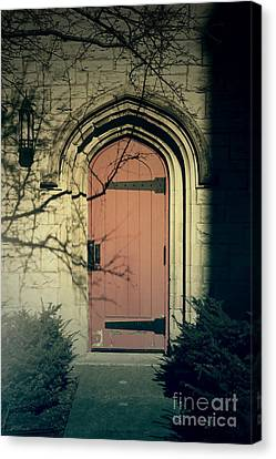 Knockin On My Door Canvas Print