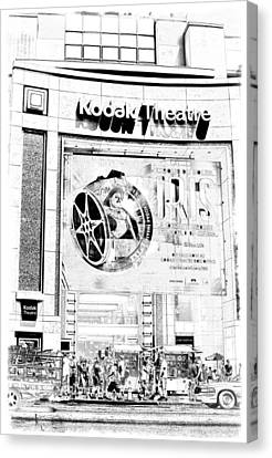 Arcylic Canvas Print - Kodak Theatre by Ricky Barnard