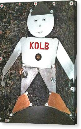 Kolb Tin Man Canvas Print