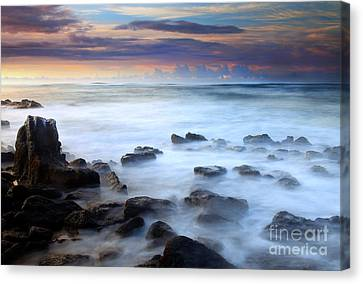Koloa Dawning Canvas Print by Mike  Dawson