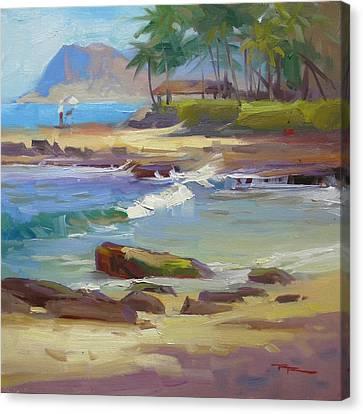 Ko'olina Lagoon Canvas Print