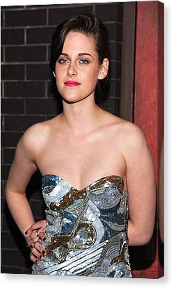 Kristen Stewart Wearing An Emilio Pucci Canvas Print by Everett