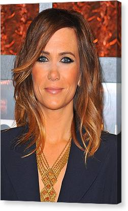 Kristen Wiig In Attendance For The Canvas Print by Everett