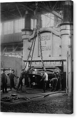 Krupps Essen, Germany, Steelworks Canvas Print