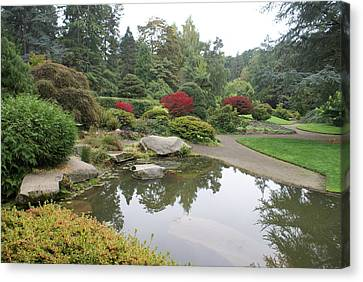 Canvas Print featuring the photograph Kubota Park by Jerry Cahill