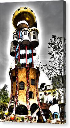 Architectur Canvas Print - Kuchlbauer - Abensberg by Juergen Weiss