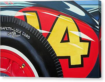 Kurtis Kraft 14 Fuel Injection Special Canvas Print