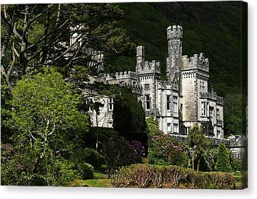 Kylemore Abbey, Connemara, County Canvas Print by Peter Zoeller
