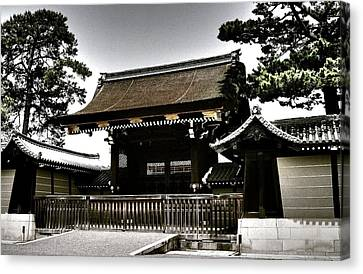 Kyoto Gosho Canvas Print by Juergen Weiss