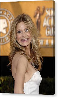 Kyra Sedgwick At Arrivals For Arrivals Canvas Print by Everett