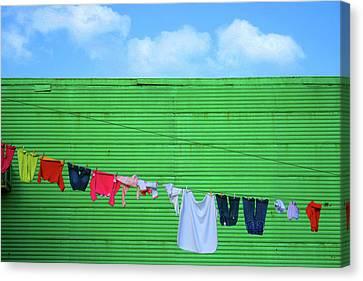 Buenos Aires Canvas Print - La Boca by Silkegb