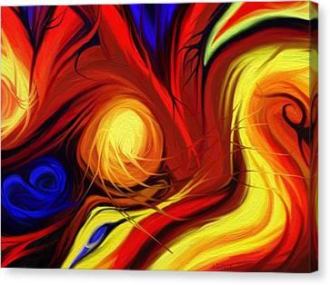 La Donna Velata 2 Canvas Print