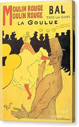 La Goulue Canvas Print by Pg Reproductions