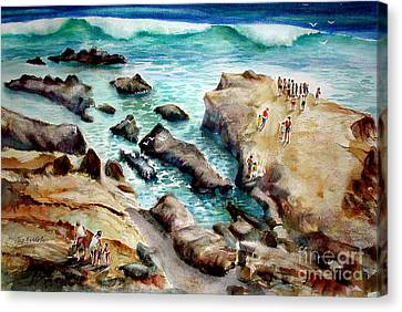 La Jolla Shores Canvas Print