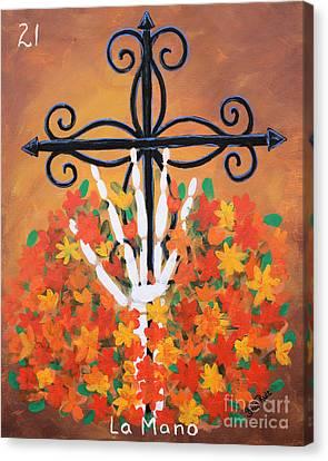 La Mano Canvas Print by Sonia Flores Ruiz