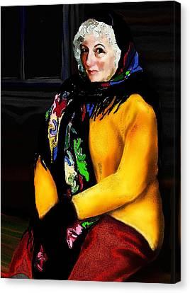 La Paysanne Russe Canvas Print by Jann Paxton