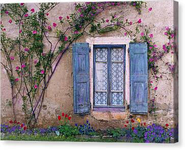 La Peinture Canvas Print by John Galbo