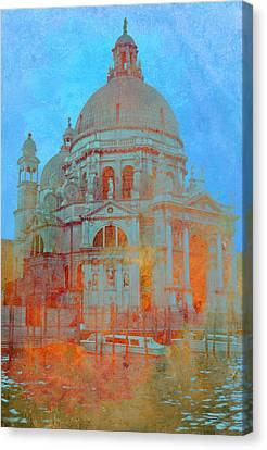 La Salute Canvas Print by Rod Jones