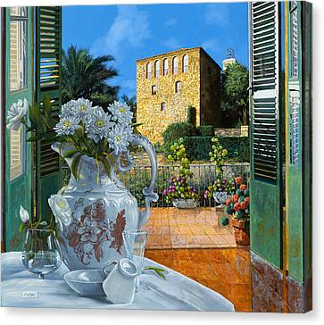 Made Canvas Print - La Tour Carree In Ste Maxime by Guido Borelli