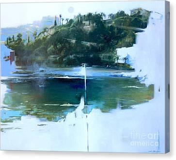 La Villefranche Franche Canvas Print by Lin Petershagen