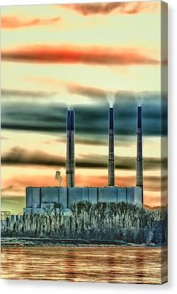 Labadie Power Plant Canvas Print