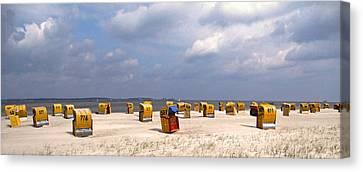 Laboe Beach ... Canvas Print by Juergen Weiss