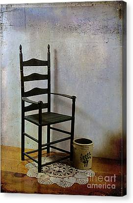 Ladderback Canvas Print by Judi Bagwell