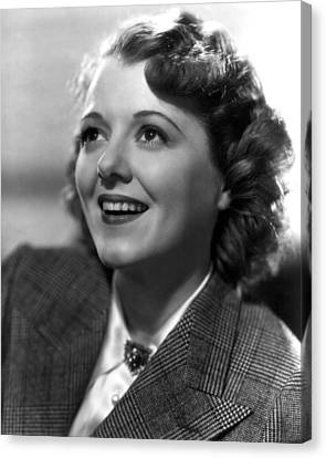 Ladies In Love, Janet Gaynor, 1936 Canvas Print by Everett