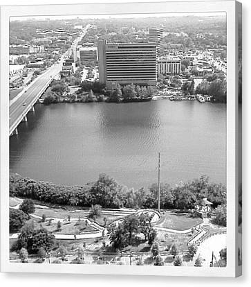 Lady Bird Lake Austin Canvas Print by James Granberry
