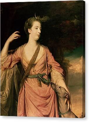 Lady Dawson Canvas Print by Sir Joshua Reynolds