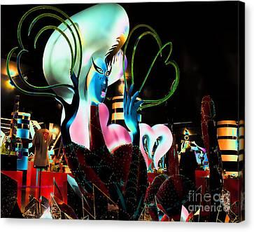 Lady Gaga Vi Canvas Print by Chuck Kuhn