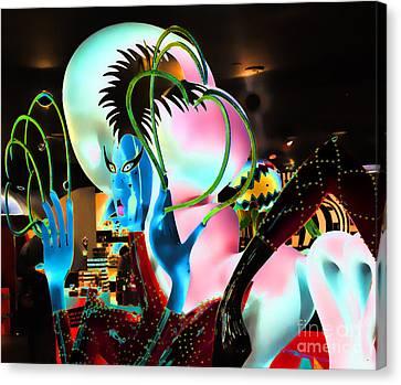 Lady Gaga X Canvas Print by Chuck Kuhn