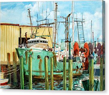 Lady Grace Trawler Canvas Print by Peter Sit