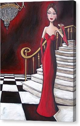 Lady Of The House Canvas Print by Denise Daffara