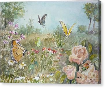 Ladybug Canvas Print by Dorothy Herron