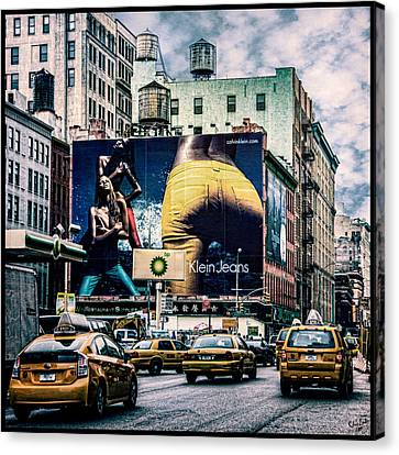 Lafayette And Houston Nyc Canvas Print by Chris Lord