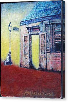Lafitte's Blacksmith Shop From The Shortside Canvas Print