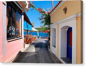 Lagada Chios Greece  Canvas Print