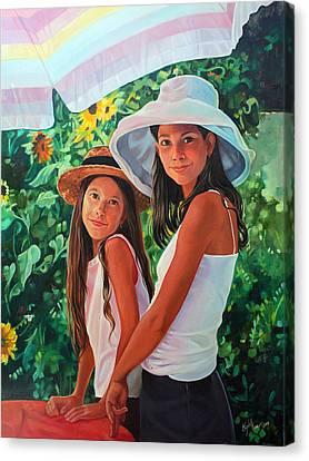Laguna Canvas Print by Elizabeth Shafer