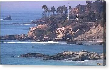 Laguna Surf Canvas Print