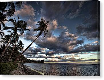 Lahaina Evening Canvas Print by James Roemmling
