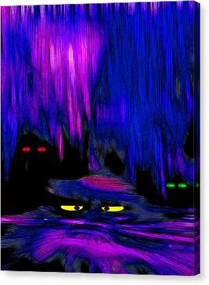 Lair 1 - Pop Art Canvas Print by Steve Ohlsen