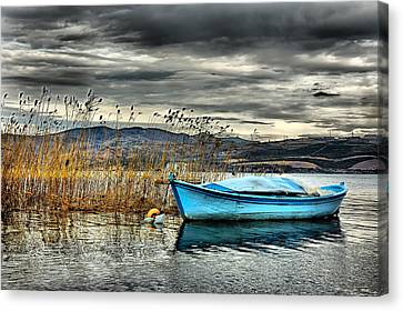 Lake - 4 Canvas Print by Okan YILMAZ