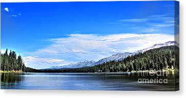 Lake Alva Canvas Print by Janie Johnson