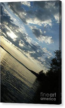 Lake Down Canvas Print