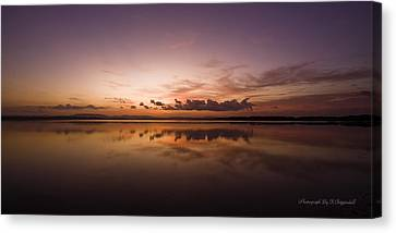 Canvas Print featuring the digital art Lake Forster Nsw 01 by Kevin Chippindall