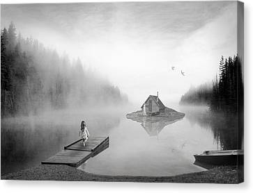 Lake House Canvas Print by Matt Hanson