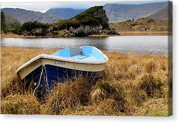 Lake In Killarney National Park Canvas Print by Barbara Walsh