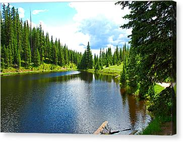 Lake Irene From The East Canvas Print