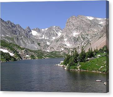 Lake Isabelle And The Continental Divide Canvas Print